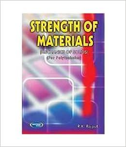 Strength Of Materials price comparison at Flipkart, Amazon, Crossword, Uread, Bookadda, Landmark, Homeshop18