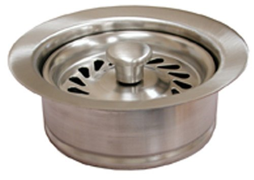 Plumbest B03-408 Disposal Assembly for InSinkErator, Brushed Nickel -
