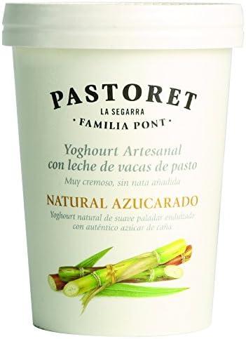 Pastoret - Yogur Natural Azucarado, 1 Unidad x 500 g: Amazon ...