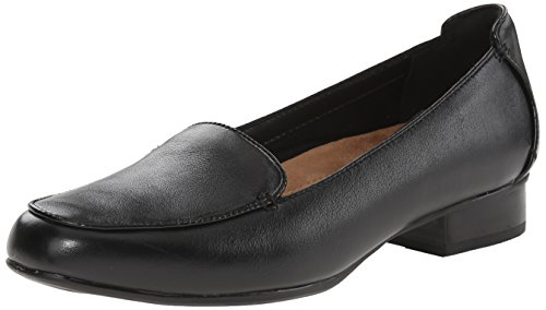 Clarks Women's Keesha Luca,  Black Leather, 8.5 2A - Narrow