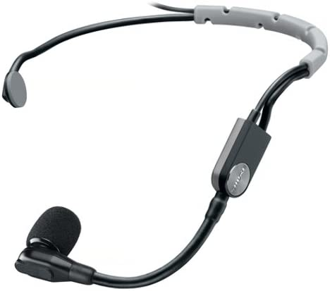Shure SM35-TQG Wireless Performance Headset Condenser Microphone with Snap-fit Windscreen and TA4F (TQG) Connector