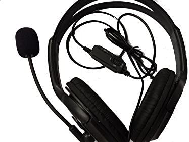 Mr.Gadget Solutions Branded Wired Gaming Headset Headphone with Microphone for Sony Playstation 4 PS4, Smartphones, PC, PSP, iPhone, iPads [Importación Inglesa]: Amazon.es: Videojuegos