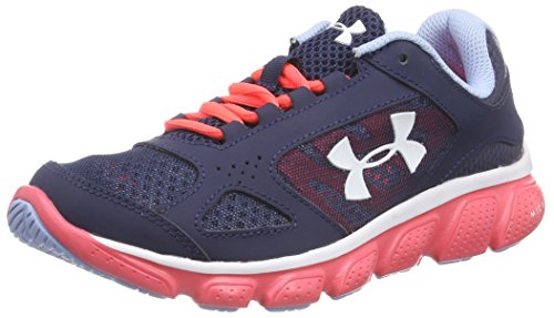 Under Armour UA GGS Assert V Youth US 4 Blue Sneakers