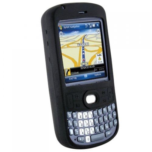 Skin Black Treo (Wireless Xcessories Silicone Sleeve for Palm Treo 800w - Black)