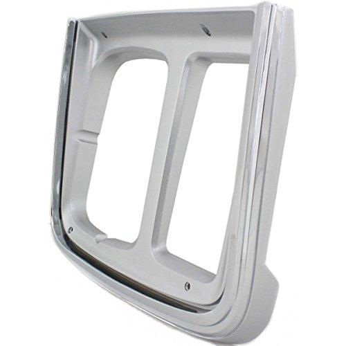 Diften 630-A0045-X01 - New Headlight Door/Bezel Passenger Right Side Chrome Express Van SaVana Chevy RH ()
