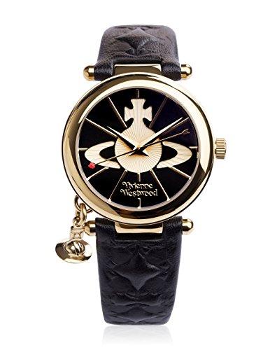 Vivienne Westwood Women's VV 006 Orb Black Leather Watch