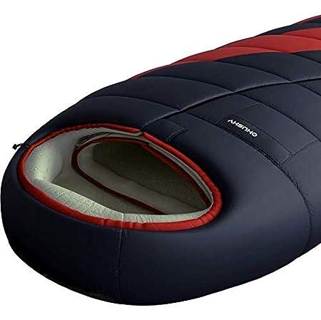 Husky Saco de dormir de Quallofil Emotion 22 °C anthracite/red Talla:210 cm: Amazon.es: Deportes y aire libre