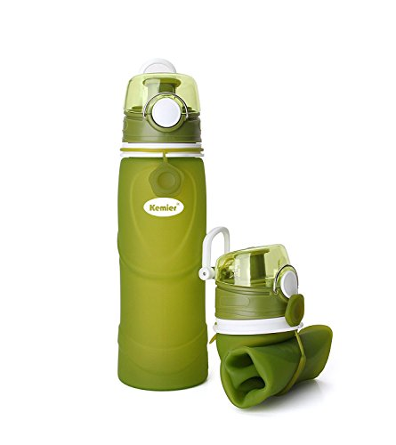 Kemier Collapsible Silicone Bottles 750ML Approved product image