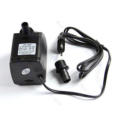 - FidgetGear Submersible Fountain Air Fish Tank Aquarium Water Pump EU Plug 220V 20W 1000L/H