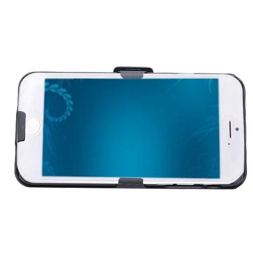 E8Q Premium Tribuna cubierta del caso funda protectora con clip de cinturón para el iPhone 7 Plus