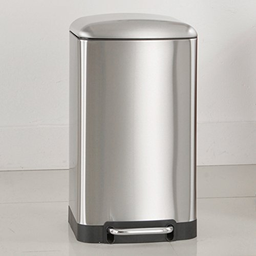 Ging Large capacity garbage can,Stainless steel step pedal w