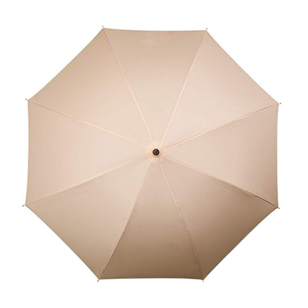 Beige 89 cm Falcone Parapluie Canne avec Ouverture Automatique et r/ésistant au Vent
