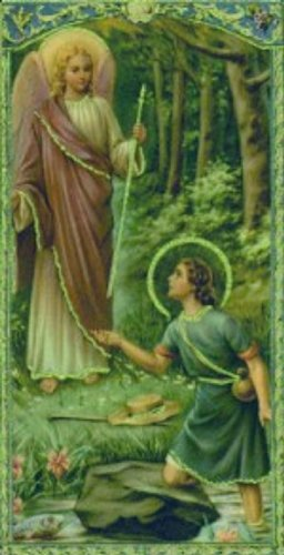 Prayer To Saint Raphael The Archangel ( Kindle Prayer Cards )