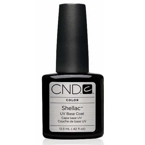 Creative Nail Shellac UV Base Coat, 0.42 Fluid Ounce