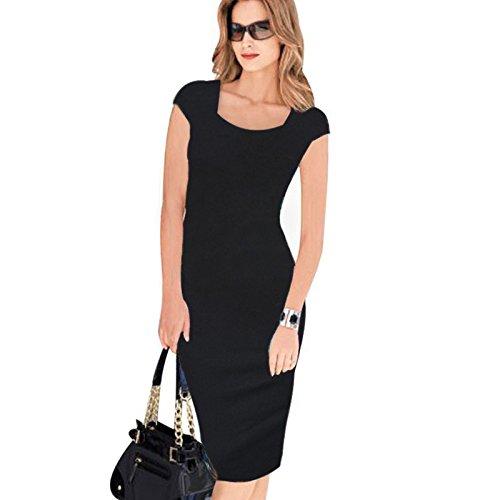Impreso Sello black 12 Vestido Vestido ZHUDJ No agxvOwz