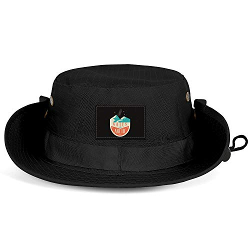 GONLFGKDSTY Gates of The Arctic National Park Unisex Man's Fishing Hats Bucket Breathable Hunting Cap