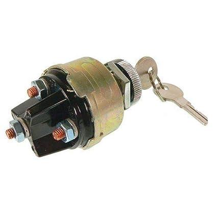 Amazon com: Ignition Key Switch, New, Massey Ferguson, 180681M93