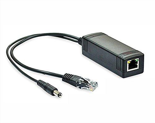 iCreatin Active 12V PoE power over ethernet Splitter Adapter, IEEE 802.3af Compliant 10/100Mbps, 12V output