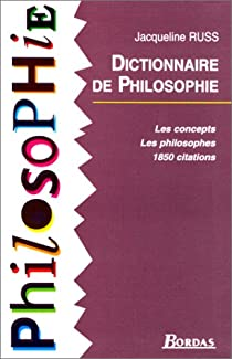 Dictionnaire de philosophie par Russ