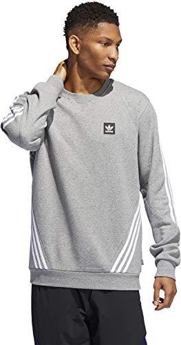 Insley Grigio Mélange Sweater Crew Adidas FAx8qdOO