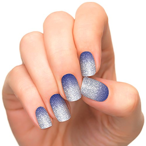Incoco Nail Polish Strips, Winter Magic Collection, Cold Spell - Ombre Nail Polish