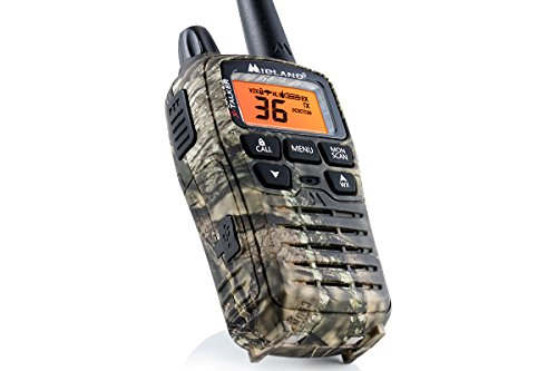 Midland - X-TALKER T75VP3, 36 Channel FRS Two-Way Radio - Up to 38 Mile Range Walkie Talkie, 121 Privacy Codes, & NOAA Weather Scan + Alert (Pair Pack) (Mossy Oak Camo) by Midland (Image #4)