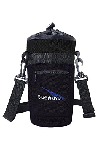 Bluewave Lifestyle GEN3 Water Bottle Carrying Holder Case, Black, 1 (Lifestyle Carrying Case)