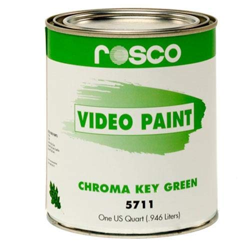 Rosco Chroma Key Paint, 1 Quart, Green