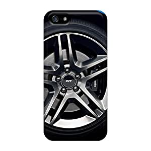 Tough Iphone AhZdMvG1503MkIvn Case Cover/ Case For Iphone 5/5s(ford Mustang Shelby Gt500 Wheel Drag)