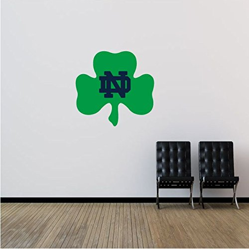 Notre Dame Fighting Irish NCAA USA Logo College Sport Art Wall Decor Sticker 21'' x 22''