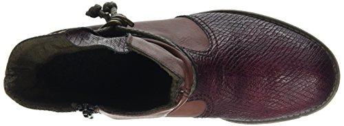 Rieker Damen 74779 Kurzschaft Stiefel Rot (Bordeaux/Vinaccia / 35)