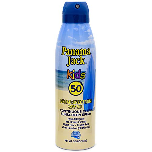 Panama Jack Baby and Kids Sunscreens Multi-Packs (Pack of 2, Continuous Spray Kids Sunscreen)