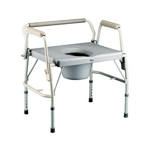 Invacare Bariatric Drop-Arm Commode
