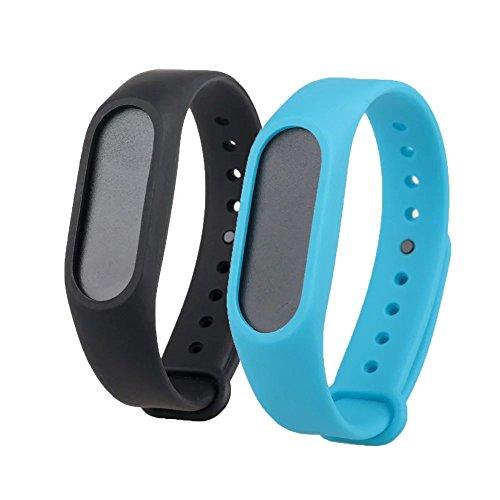 Replacement TPU Wrist Band for Xiaomi MI Band 2 - Cyan - 2