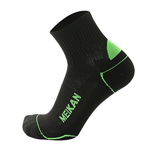 小康数値女性MEIKAN ランニング ソックス スポーツ 靴下 リサイクルプラスチックボトル使用 通気性 マメができにくい 素材 デオドラント ドライ ショートアンクル ソックス 男性 女性【2組】
