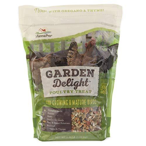 - Manna Pro Garden Delight Poultry Treat, 2.25 lb