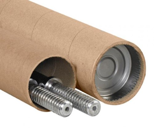 Aviditi P32512AT Adjustable Tubes, 3 1/4'' x 60-120'', Kraft (Pack of 15)