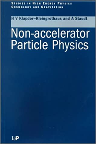 Non-accelerator Particle Physics