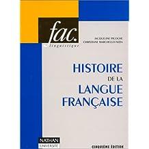 Hist.langue francaise