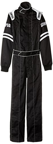 Simpson LY22071 Legend II Suit, Black, X-Small