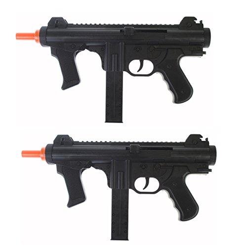 Dark Ops Airsoft Spring Power P1238 Mini SMG Tactical Soft Air Gun Pistol + BBS (2) (Airsoft Mini Smg)