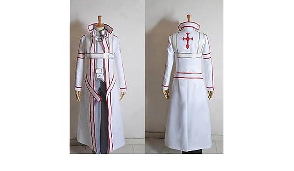 Sword Art Online Knights of the Blood Oath Kirito traje cosplay ...