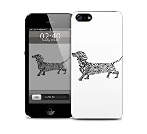 dashound Apple iPhone 6 protective designer plastic skin / case (to fit 4.7 inch version)