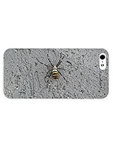 3d Full Wrap Case for iPhone 5/5s Animal Black And Yellow Garden Spider