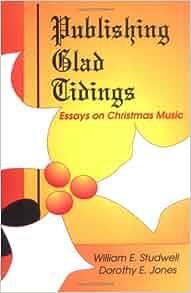 Christmas essay glad music publishing tidings