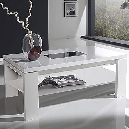 M-020 Mesa Baja elevable Blanca Design Moselle: Amazon.es: Hogar