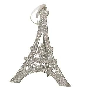 Wendy Addison Easel Eiffel Tower Ornament