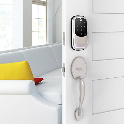 Yale Assure Lock Key Free Deadbolt with ZigBee in Satin Nickel - Works with Echo Plus, Samsung SmartThings, Wink and more (YRD246HA2619) by Yale Security (Image #5)