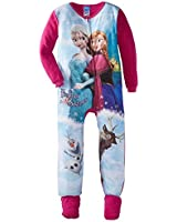 "Disney Frozen ""Forever Sisters"" Footed Sleeper for girls"