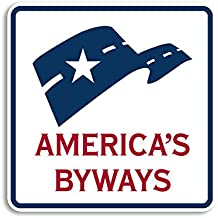 AMERICAS BYWAYS Sticker (logo road sign symbol highway)